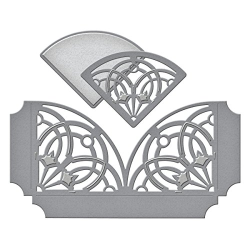 Spellbinders S4-503 Shapeabilities Arched Elegance Pocket Etched/Wafer Thin Dies (Elegance Cards)