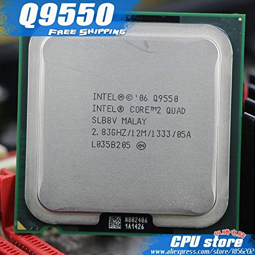 Intel Core 2 Quad Q9550 CPU Processor (2.83Ghz/ 12M, used for sale  Delivered anywhere in USA
