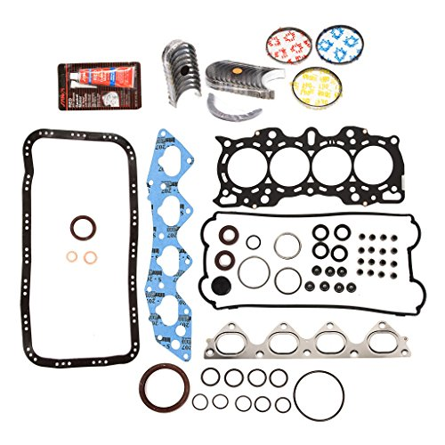 Evergreen Engine Rering Kit FSBRR4030EVE\0\0\0 Fits 97-01 Honda CR-V 2.0 DOHC B20B4 B20Z2 Full Gasket Set, Standard Size Main Rod Bearings, Standard Size Piston Rings