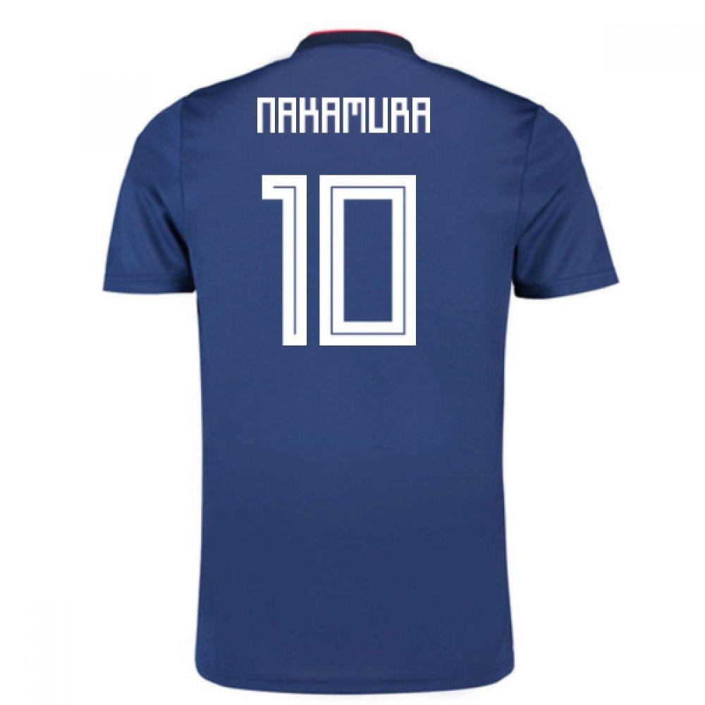 2018-19 Japan Home Football Soccer T-Shirt Trikot (Shunsuke Nakamura 10) - Kids