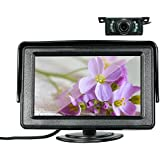 KKmoon 4.3 Inch TFT Color Display Car LCD Monitor Dashboard Screen Parking Monitor with Rearview Camera