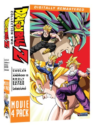 Dragon Ball Z: Movie Pack Collection Two (Movies 6-9) (Six Pack Movie Dvd)