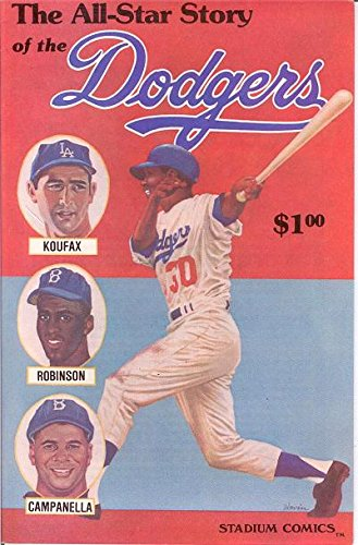 ALL STAR STORY OF THE DODGERS 1 F-VF COMICS BOOK