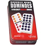Continuum Games Double Nine Dominoes Tin