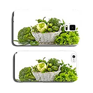 Fresh green vegetables cell phone cover case iPhone5