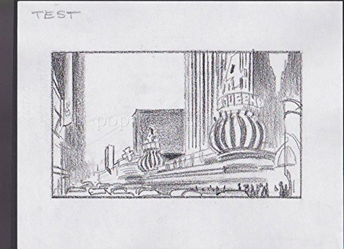 HONEY I BLEW UP THE KID '92 ORIGINAL STORYBOARD ART ALDANA LAS VEGAS 4 QUEENS ()