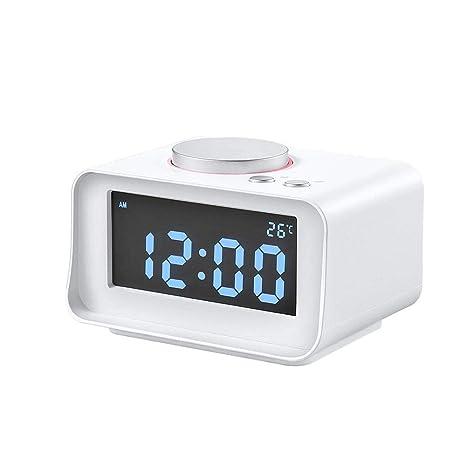 Digital Table LCD Reloj Despertador, Multi-función de ...