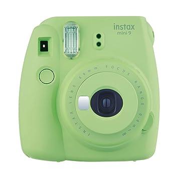 da54357f34938 Fujifilm Instax Mini 9 - Cámara instantánea, Solo cámara, Verde  Amazon.es   Electrónica