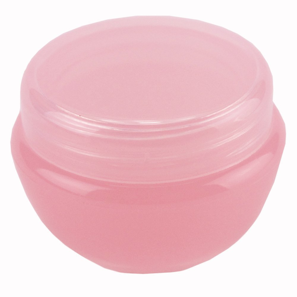 10pcs 10ml Lid Plastic Empty Container Jar Pot Cosmetic Eyeshadow Makeup Face Cream Lip Balm Jars Pink Upstore