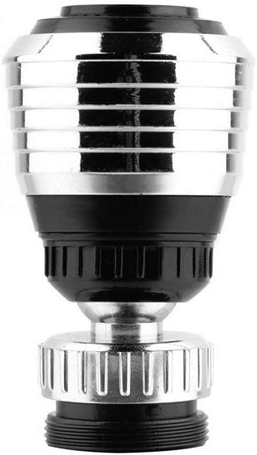 zhouweiwei Grifo Giratorio de 360 /° Difusor de Extremo Giratorio Dispositivo de Adaptador de Ahorro de Agua Filtro de v/álvula de ba/ño de Ducha antisalpicaduras para Uso dom/éstico