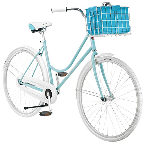 700c Ladies Cycle - Schwinn Women's Scenic 700c Dutch Bicycle, Light Blue, 16-Inch Frame