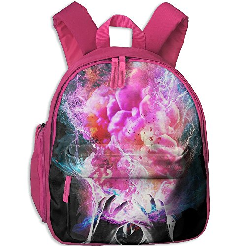 Color Explosion Head Art Boys Girls Oxford Cloth Book Bag For - Head Oxford Shop