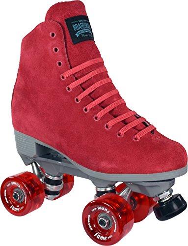 - Sure-Grip Boardwalk Fame Roller Skate Package - red sz Mens 7 / Ladies 8