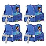 (4) COLEMAN Stearns Dora The Explorer Infant Life Jacket Vests w/ Rescue Handle
