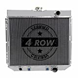 """Primecooling """"4 Row Core"""" Aluminum Radiator w/ Oil Cooler for 1963-70 Cougar/Mercury /Falcon /Mustang More Models (20"""" Wide Core)"""