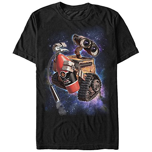 Recharge Fire Extinguisher (Wall-E Men's Fire Extinguisher Space Black T-Shirt)