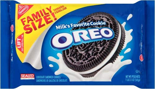 Oreo Chocolate Sandwich Cookies Family Size (Pack of 36)