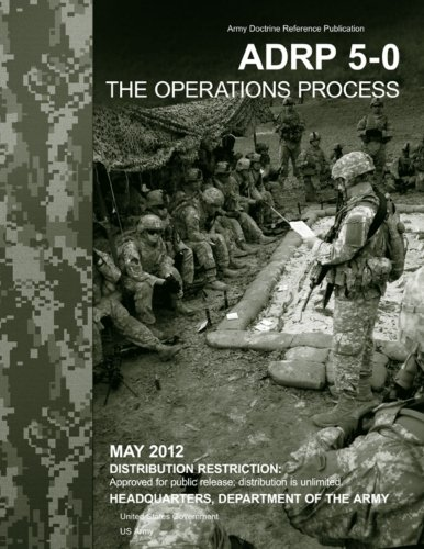 Army Doctrine Reference Publication ADRP 5-0   The Operations Process    May 2012 pdf epub