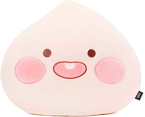 KAKAO FRIENDS Official- Lovely Apeach Face Mochi Pillow Cushion (Smile)