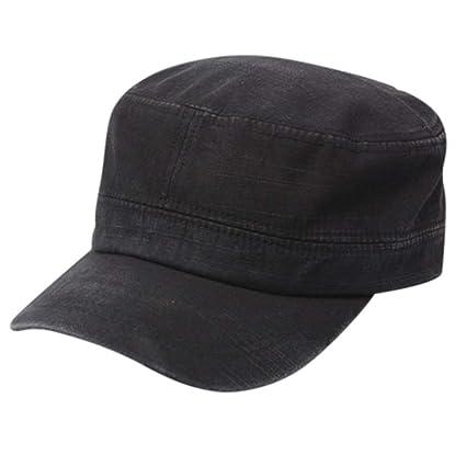 Likai Sombreros de Mujer Gorras de Sombrero Planas lavadas con ...