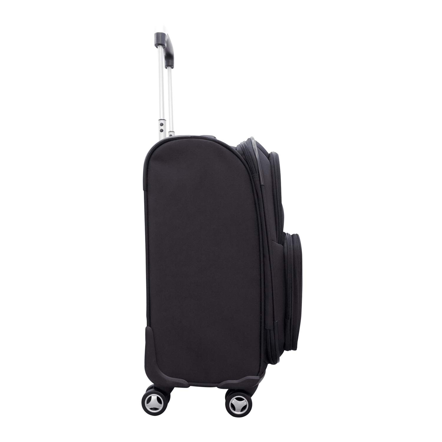 Denco NBA Charlotte Hornets Carry-On Luggage Spinner by Denco (Image #3)