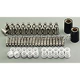 62pcs Plasma Cutter Cutting Consumables SG-51 50A TIPS1.0