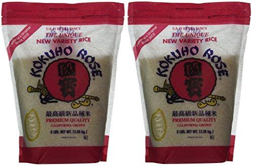 KOKUHO RICE SUSHI PdJjXK, 2 Pack (5 lbs) by Kokuho