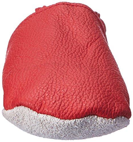 Sayoyo Premium WeichesLeder Lauflernschuhe Krabbelschuhe Babyschuhe Rot