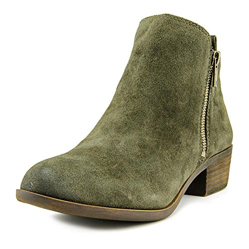 Lucky Brand Women's Basel Bootie Green Suede Leather Size 7.