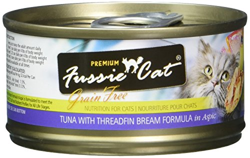 Cheap Fussie Cat Fcc017 Premium Tuna With Threadfin Bream Formula Can Cat Food (24/1 Pack), 2.82 Oz/One Size