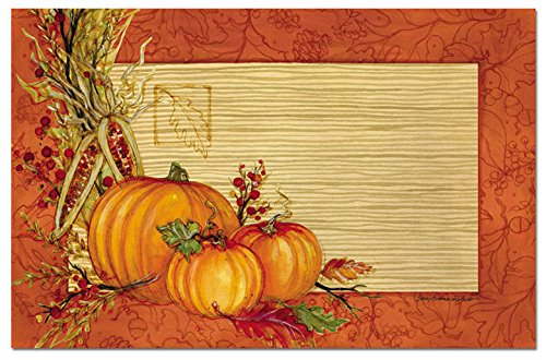 CounterArt Paper Placemat Autumn 24 Pack