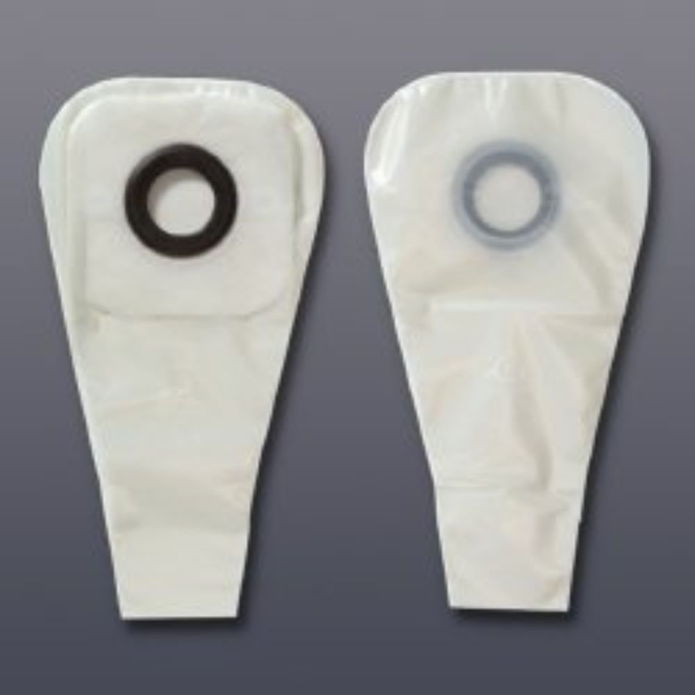 HOLLISTER Colostomy Pouch Karaya 5 One-Piece System 12'' Length 7/8'' Stoma Drainable (#3228, Sold Per Box)