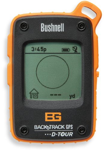 Bushnell Bear Grylls Edition BackTrack D-Tour Personal GPS Tracking Device, Orange/Black