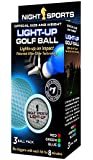 Night Sports Light-Up Golf Balls (3-Pack)