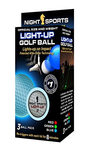 Night Sports USA Light Up Golf Ball (3-Pack) -
