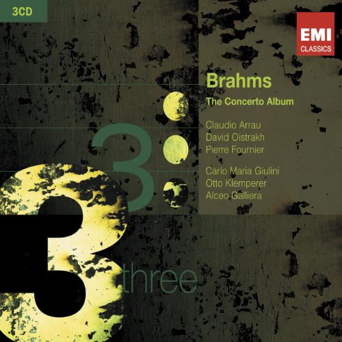 Brahms: The Concerto Album (Piano Concertos 1 and 2: Violin Concerto: Double Concerto: Tragic Overture: Variations on a Theme by Haydn) (Cd Concertos Piano Album)