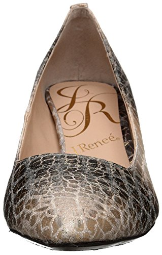 J.renee Womens Braidy Dress Pump Gold