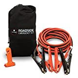 #2: Car Jumper Cables Booster Cable High Performance Battery (400 AMP) 4 Gauge x Extra Long 20Ft in Carry Bag (4AWG x 20Ft) with Heavy Duty Alligator Clamps - Carrying Bag & Emergency Tool Window Breaker