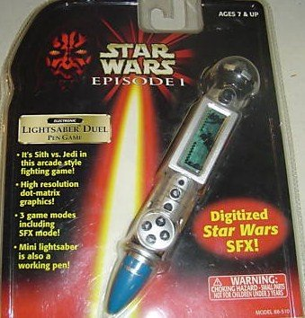 Star Wars Lightsaber Pen (Star Wars Episode I Pen Game: Lightsaber Duel)