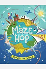 Maze Hop® Around the World Paperback