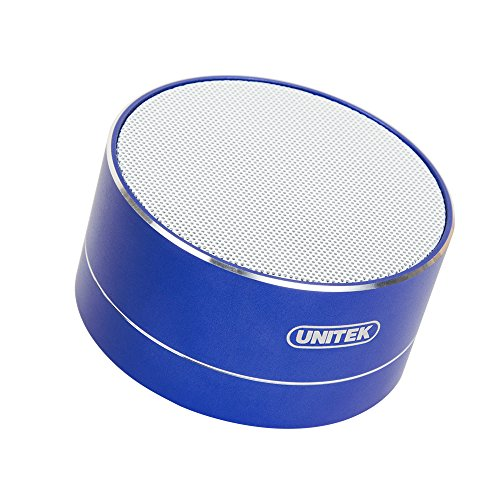 Wireless Bluetooth Speakers  Unitek 3W Stereo Bluetooth Speakers V4 0  Loud Stereo Sound  Build In Microphone For Iphone 7 Plus  Samsung   Blue