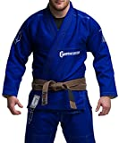 Gameness Jiu Jitsu Feather Gi Blue A1