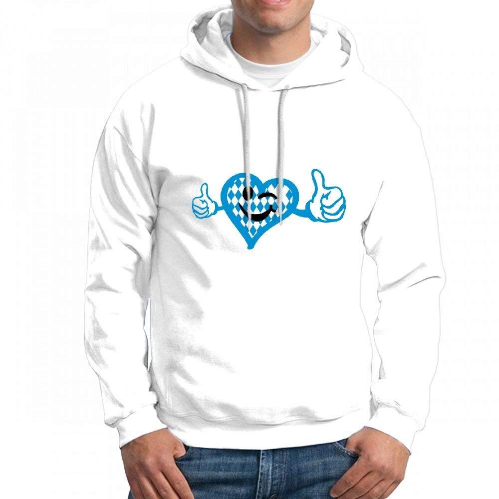 CopyBoy Store Customizable Personalized Oktoberfest Like Heart2 Hoodie Sweatshirt