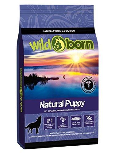 Wildborn Hundefutter NATURAL PUPPY 15kg getreidefreies Welpenfutter für alle Hunde bis 1.Jahr