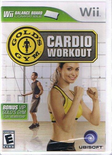 Gold's Gym: Cardio Workout - Wii Balance Board - Gold Gym Wii
