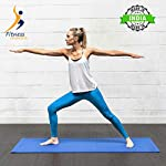 Fitness Mantra® Yoga Mat for Gym Workout and Yoga Exercise with 4 mm Thickness, Anti-Slip Yoga Mat for Men & Women…