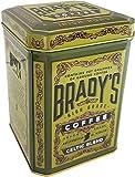 Brady's High Grade Irish Roast Ground Coffee in a Tin, Celtic Blend 227G