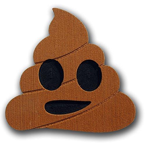 Toejamr Snowboard Stomp Pad - POO Emoji - Brown by Toejamr