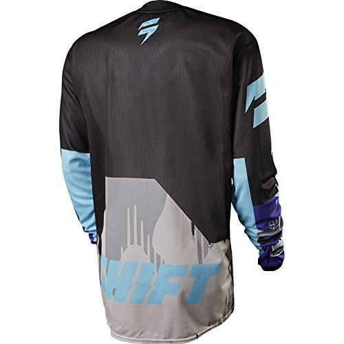 (Shift Racing Strike Army Men's MX Motorcycle Jersey - Purple/X-Large)