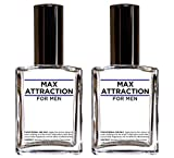 Max Attraction For Men - Pheromones To Attract Women (2 Bottles Special Offer Discount)
